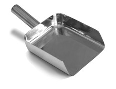 SANI-LAV Model 42SQ 50 oz. Type 316 Stainless Steel Pharma Scoop