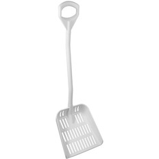 Vikan 56045 Large Ergonomic Sieve Shovel in White