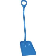 "Vikan 5601 Large Ergonomic Shovel w/ 51"" Handle (Front View)"