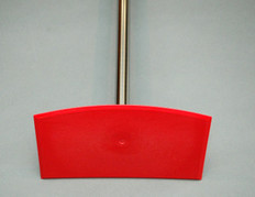"""Food Hoe with Heavy Duty 60"""" Stainless Steel Handle"""