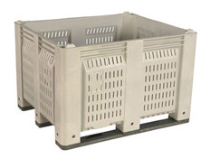 MACX M40P Vented Container - Long-side Runners