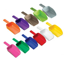Remco 6400 Color-Coded Food Grade Plastic Scoops