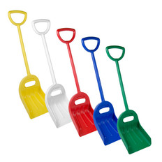 "One-Piece Dual Grip Shovel w/ 14"" Blade in Multiple Colors"