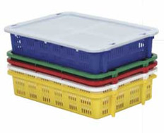 Vented Fish & Farm Trays with Lid