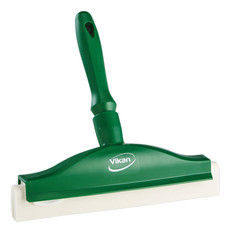 "10"" Foam Bench Squeegee in Green (Front View)"