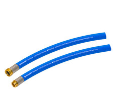 50 ft. Blue Fortress 300 FDA Wash-Down Hose Microban® Cover