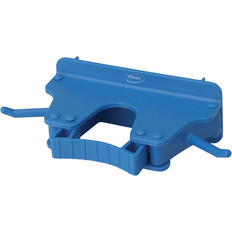 Vikan 1017 Wall Bracket for 1-3 Tools in Blue