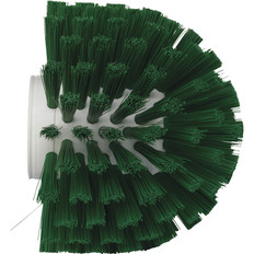 "Vikan 7035 5"" Pipe Brush in Green (Side View)"
