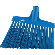 "Vikan 2914 12"" Angle Broom with Stiff Bristles"