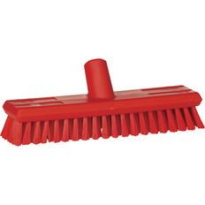 """Vikan 7043 11"""" Waterfed Stiff Floor Scrub"""