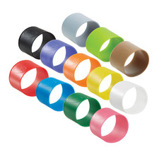 "Vikan 9802 1.5"" Color-Coded Silicon Bands (5/PK) in Multiple Colors"