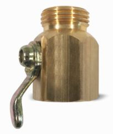 SANI-LAV Model N16 Brass On/Off Control Valve