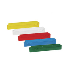 """Vikan 7731 10"""" Double Blade Squeege Refill Cartridges in 5 Colors"""