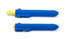 BST HLRPEN Retractable Metal Detectable Hi-lighter Markers - 10/pk