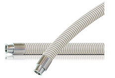 Kanaline FW Clear Braided Transfer Hose Assembly (Tri-Clamp)