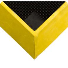 "Wearwell Tall Wall Sanitizing Footbath Mat with 2 1/2"" Edges"
