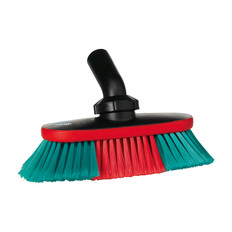 """Vikan 526852 10"""" Soft/Split Waterfed Vehicle Brush w/ Adjustable Head"""