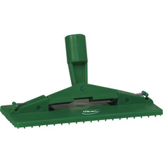 Floor & Wall Cleaning Pad Holder in Green (Front View)