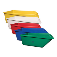Large Angled Dump Tub in Multiple Colors