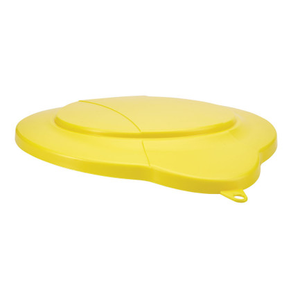 Vikan 5687 3 Gallon Bucket/Pail Lid in Yellow