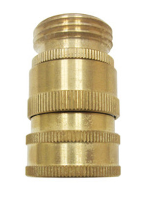 """SANI-LAV N19 Brass Quick Disconnect w/ 3/4"""" GHT"""