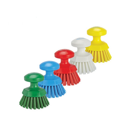 Vikan Round Scrub Brush - Available in 5 Colors