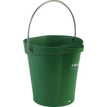 Vikan 5688 1.5 Gallon Bucket/Pail in Green
