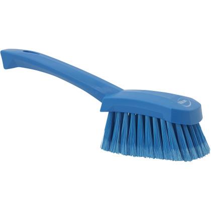 Vikan 4194 Short Handle Washing Brush - Extra Soft (Side View)