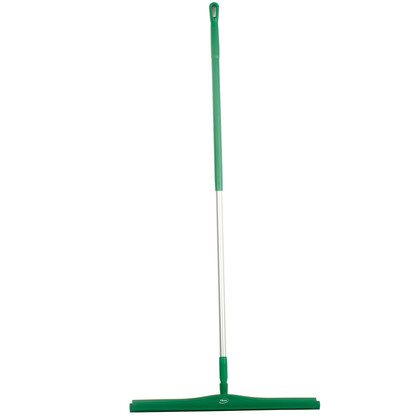 "Vikan 7715 28"" Double Blade Squeegee with 60"" Alum Handle"