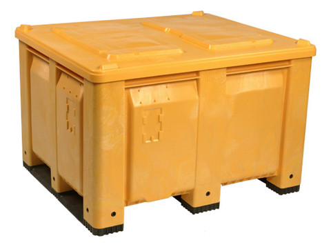 Spent Grain Removal Bin Container for Breweries