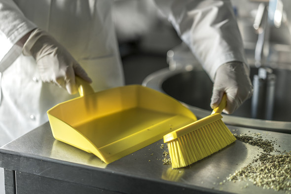 Vikan 5660 Hygienic Dustpan - Great for Small Particles