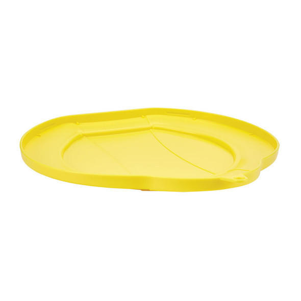 Vikan 5687 3 Gallon Bucket/Pail Lid in Yellow (Underside)