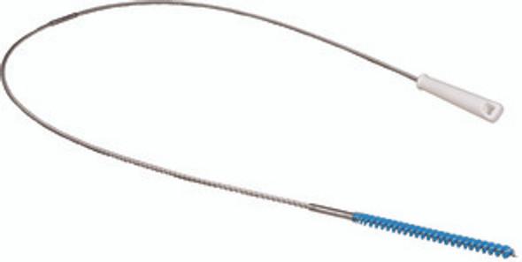 "Stiff Narrow Tube Brush w/ 60"" Stainless Steel Flex Handle"