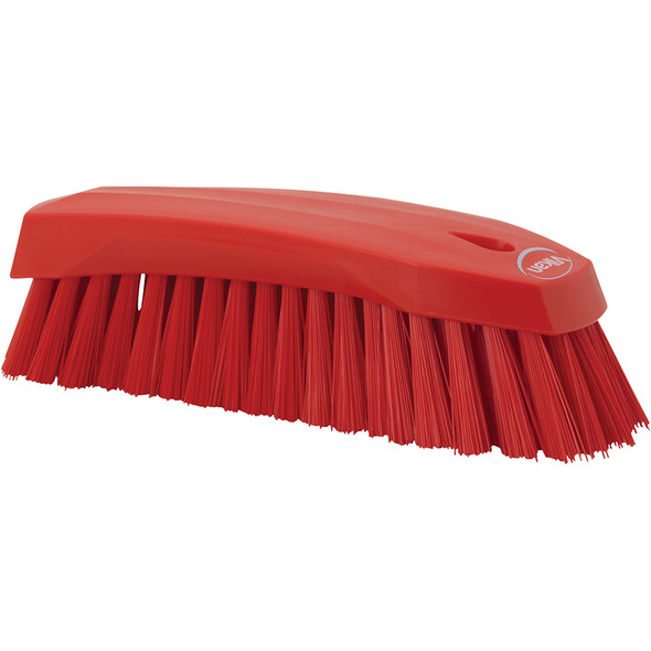 Vikan 3890 Large Stiff Hand Brush (Side View)