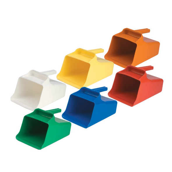1 Gallon Mega / 128 oz. Plastic Scoop - Available in 6 Colors