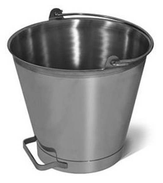 16 Quart Stainless Steel Bucket/Pail with Side Handle