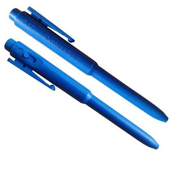 BST RJPEN Metal Detectable Retractable Pen with Clip -25 / PK