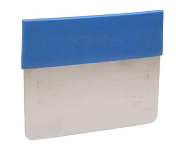 BST MDSSCR02 Metal Detectable SS Rigid Dough Cutter w/ Detect. Grip