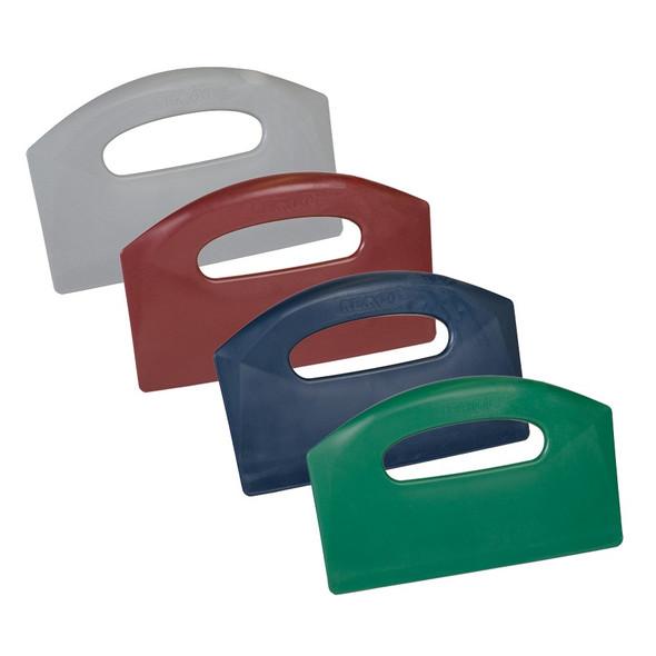 "Remco 6960MD 8"" Metal Detectable Bench Scraper - 4 Colors"