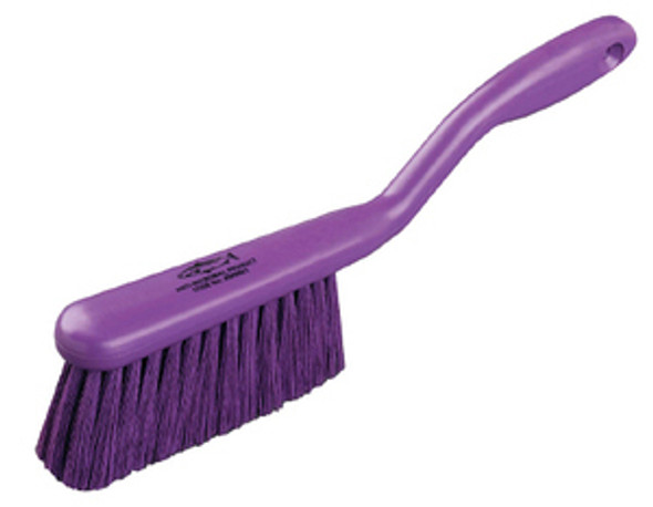 """Antimicrobial 12"""" Soft Raised Handle Bench Brush"""