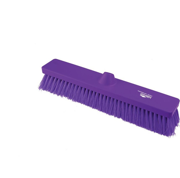 "Hillbrush Anti-microbial 18"" Medium Straight Broom"