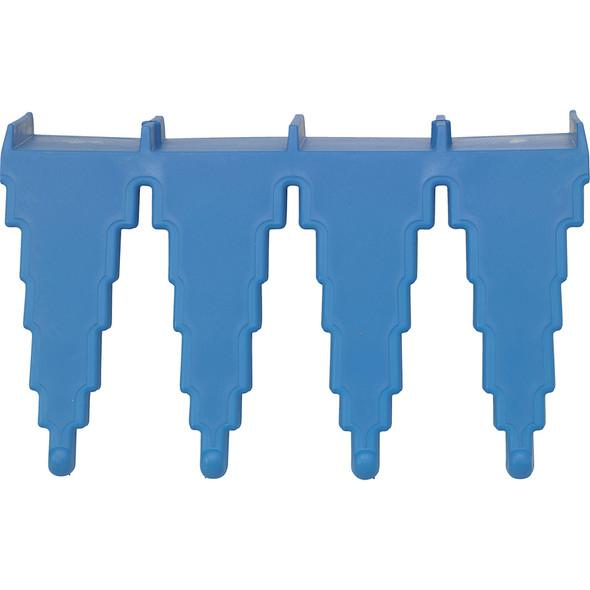 Vikan 06153 Basic Wall Bracket in Blue (Top View)