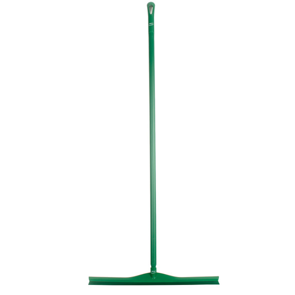 "Vikan 7170 28"" Single Blade Squeegee w/ 60"" Polypro Handle"