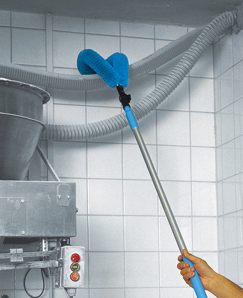 Overhead Pipe Cleaning Brush with Alloy Extension Handle Cleaning Hoses