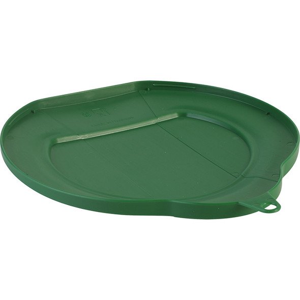 Vikan 1.5 Gallon Bucket/Pail Lid in Green (Underside)