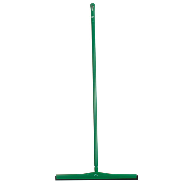 "Vikan 7755 28"" Double Foam Squeegee w/ 60"" Handle"