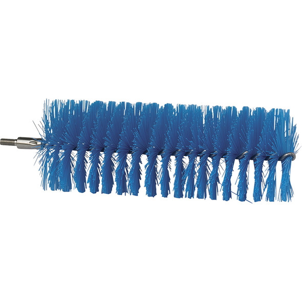 """2.3"""" Tube Brush in Blue (Side View)"""
