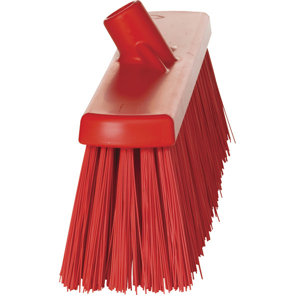 "Vikan 2920 20"" Extra Stiff Push Broom (Side View)"
