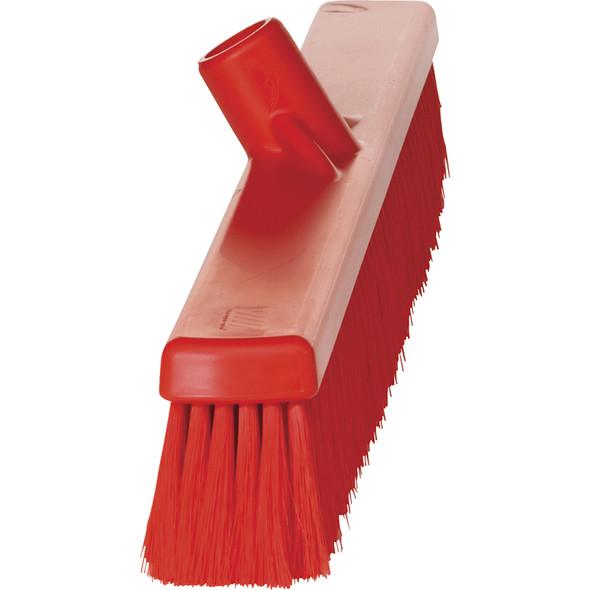 "Vikan 3199 24"" Small Particle Push Broom (Side View)"