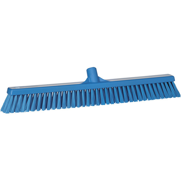 "Vikan 3194 24"" Soft/Stiff Combo Push Broom (Replacement Head)"
